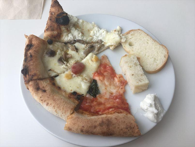 ニコエのピザとパン