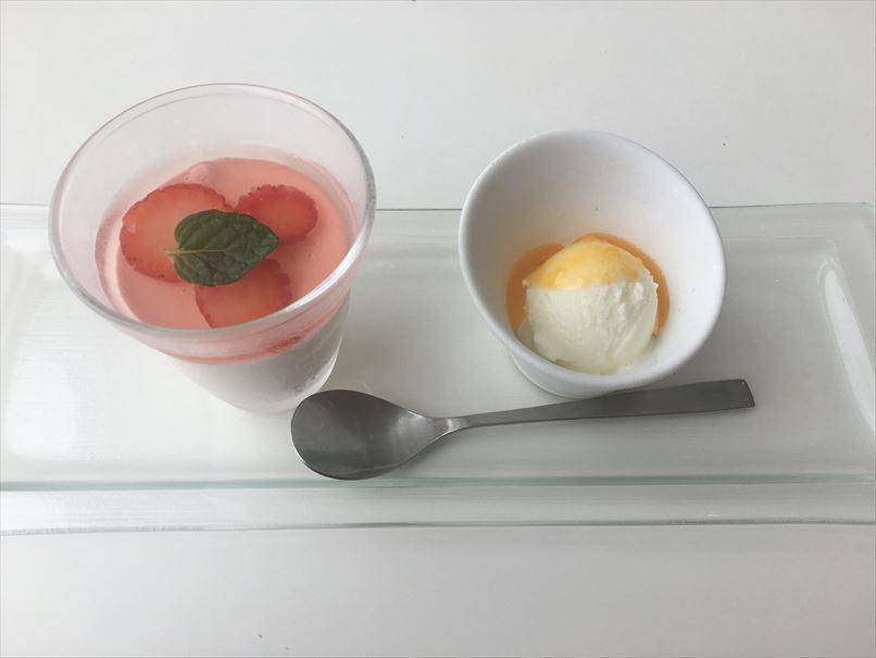 ニコエのデザート