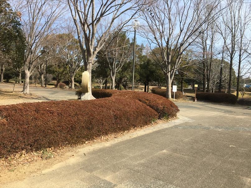 かぶと塚公園の風景