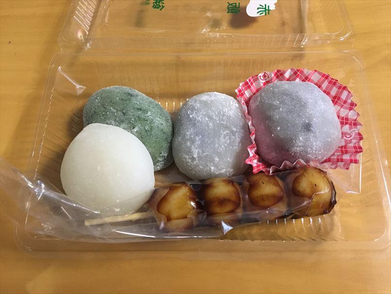 餅のはまな購入した和菓子
