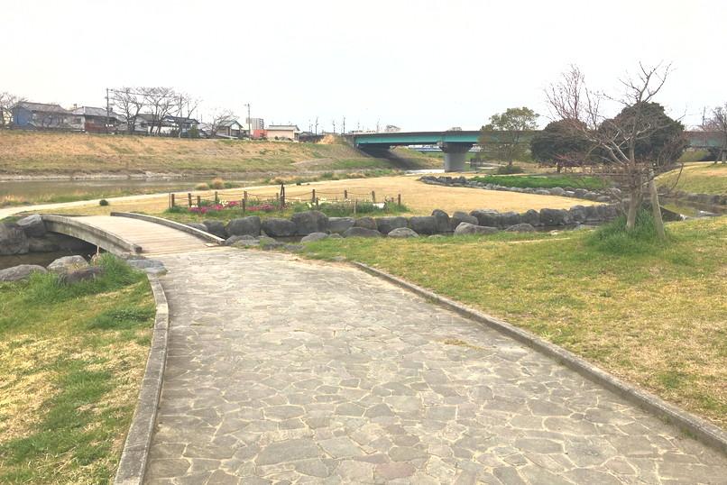 馬込川上島緑地ウォーキングコース