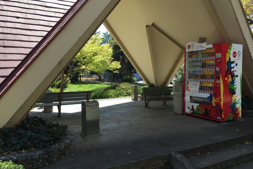 四ツ池公園の喫煙所