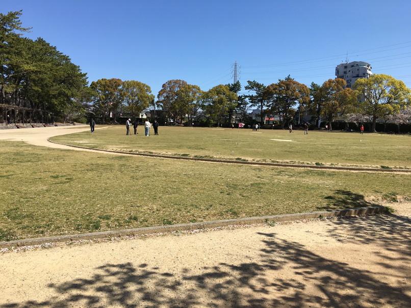 四ツ池公園の補助競技場