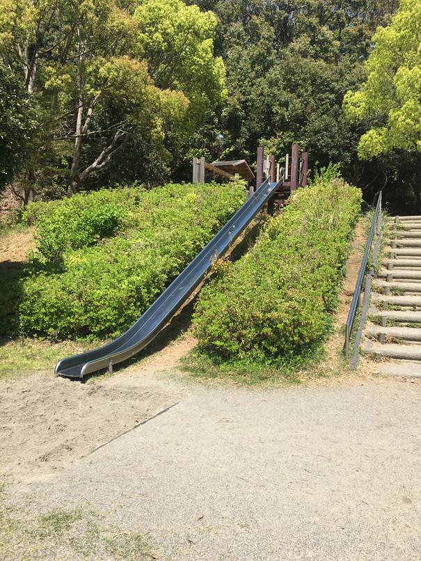 都田総合公園の滑り台