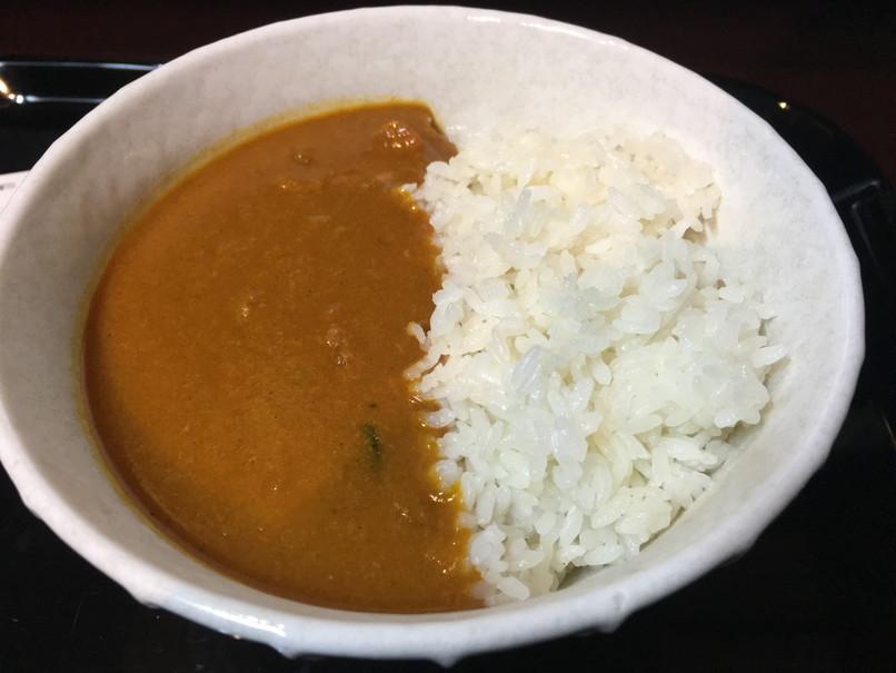 快活クラブの朝カレー(緑黄色野菜カレー)