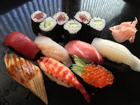 千鳥寿司のお寿司