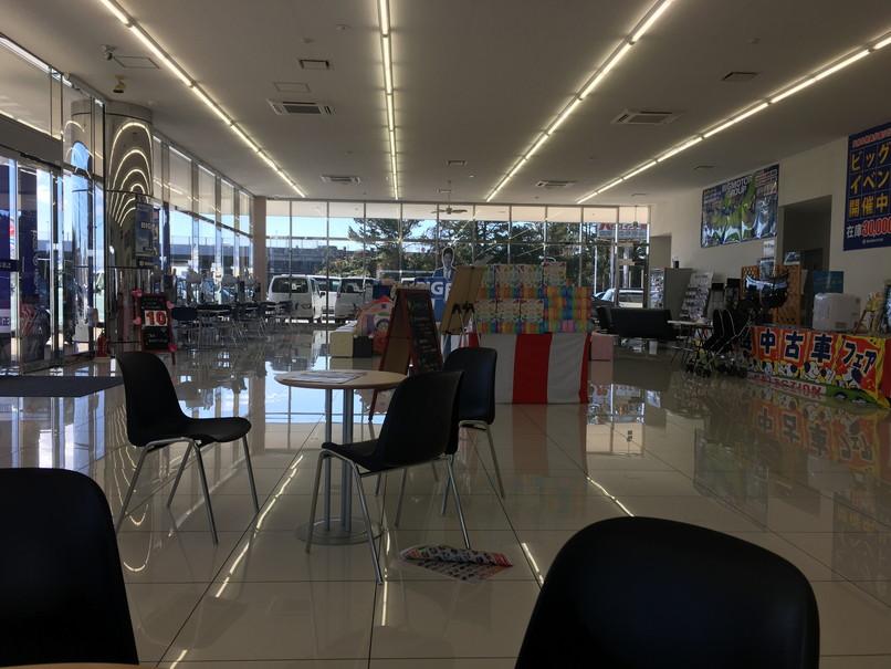ビッグモーター浜松東店の待合室