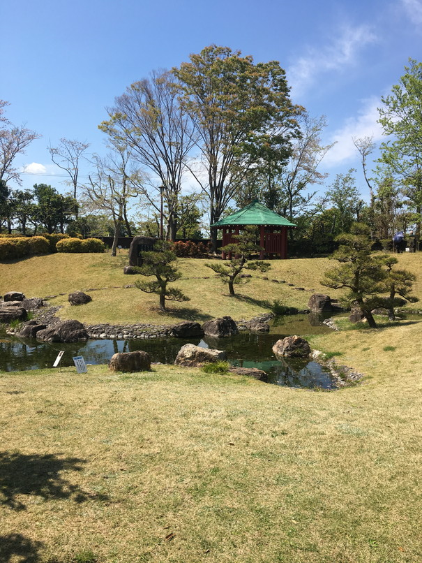 万葉の森公園の庭園