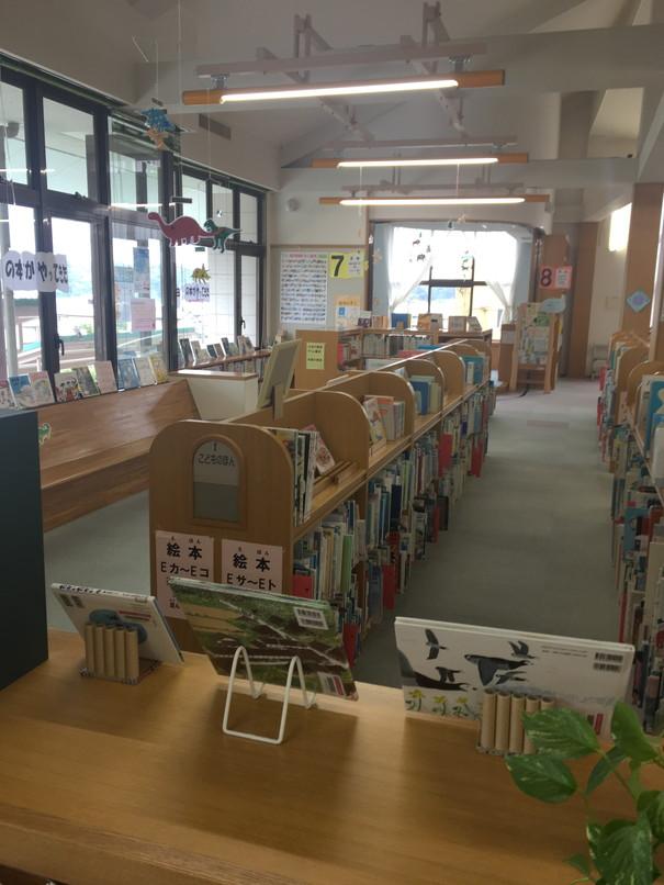 引佐図書館の児童コーナー