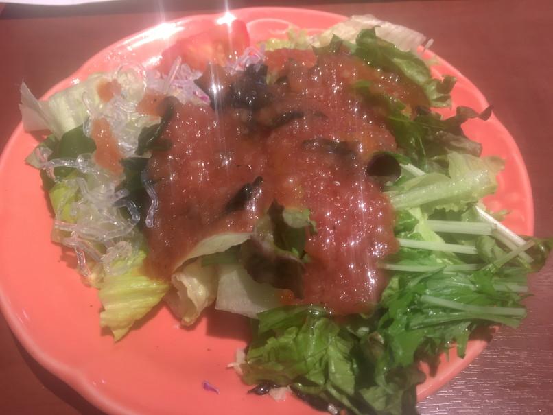 ブロンコビリーのサラダバーの生野菜