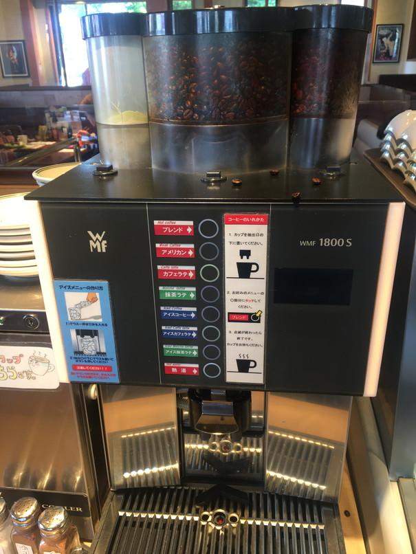 ブロンコビリーのドリンクバーのコーヒー