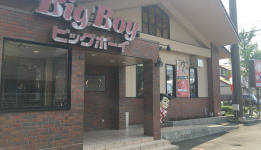ビッグボーイ浜松有玉店はサラダバー・カレー・スープバーがあってとてもお得でした