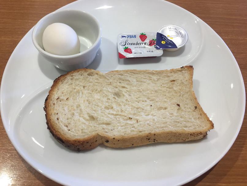 ビッグボーイのボイルエッグ&トースト