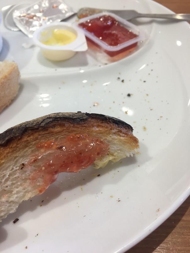ビッグボーイのボイルエッグ&トーストアップ