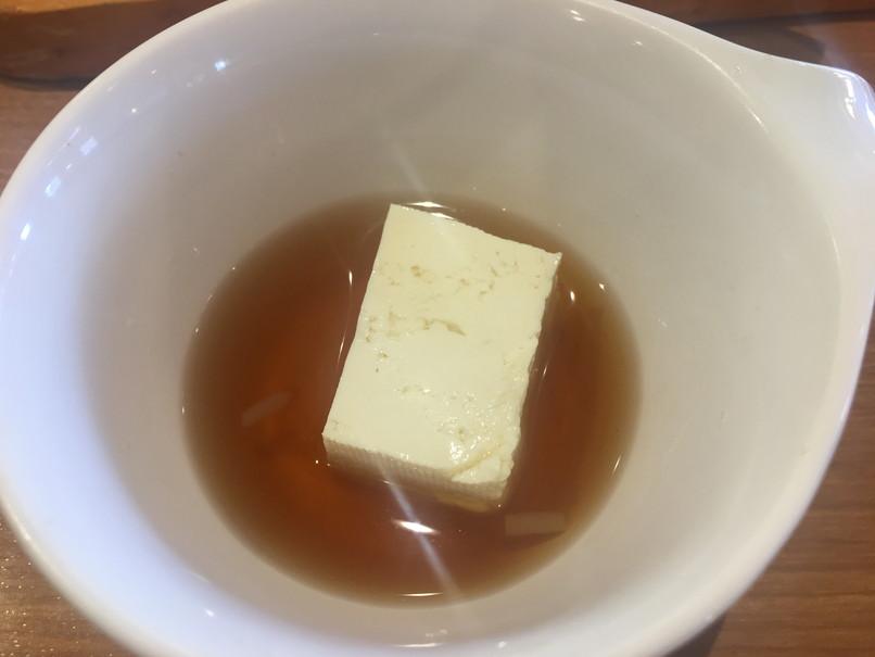 ビッグボーイのサラダバーの豆腐