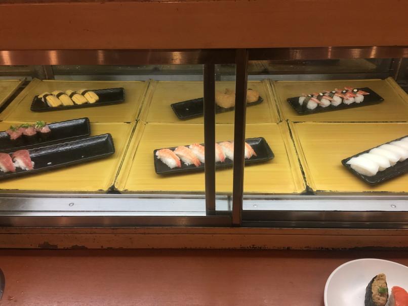すたみな太郎の寿司コーナー
