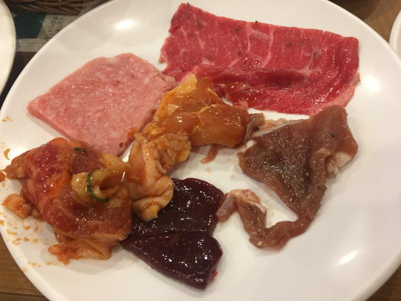 すたみな太郎の肉