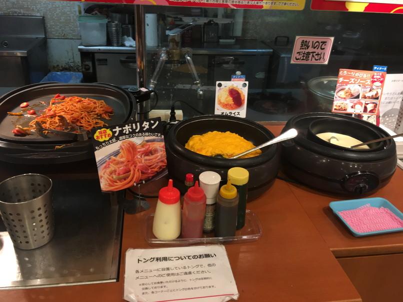 すたみな太郎の総菜コーナー