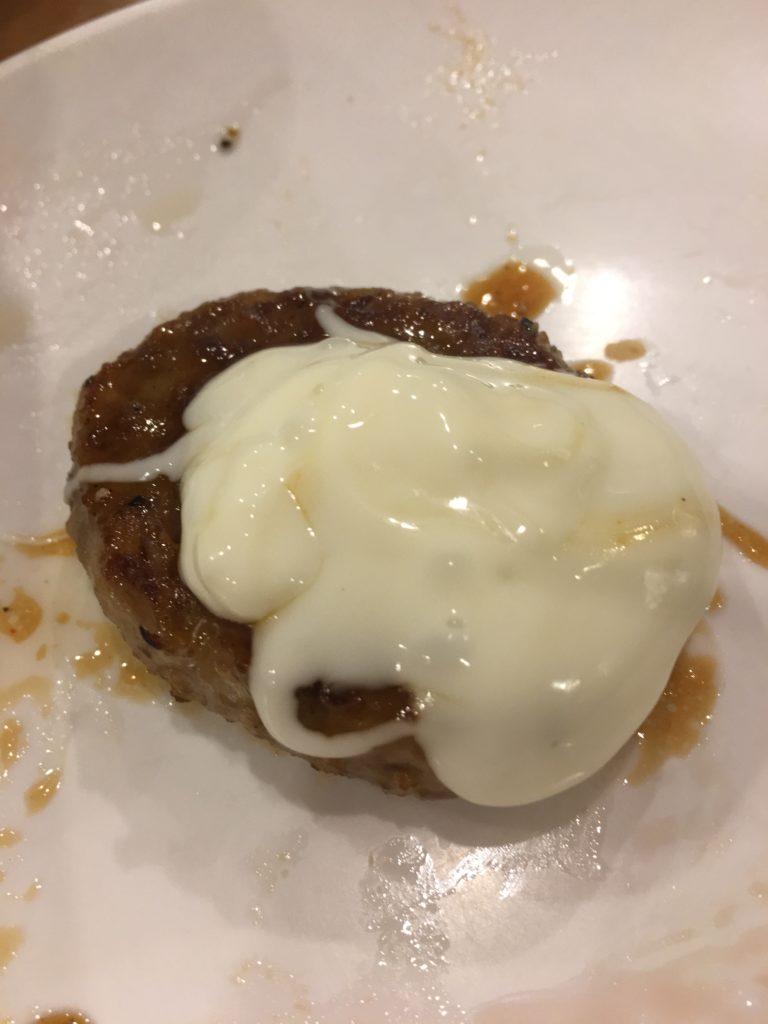 すたみな太郎のチーズハンバーグ