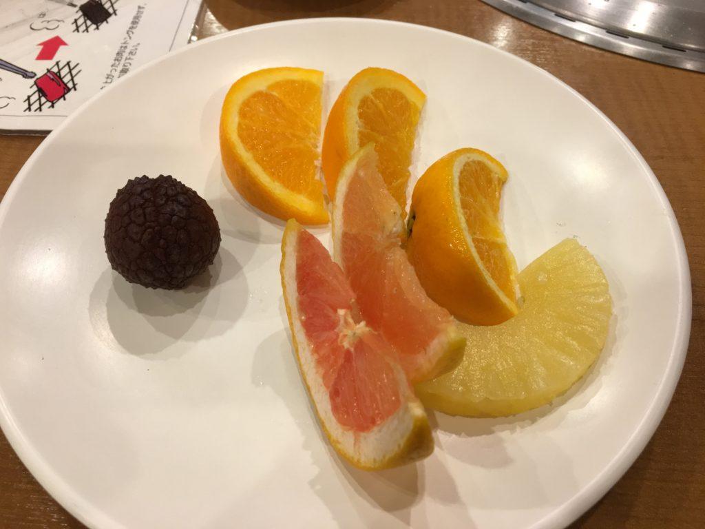 すたみな太郎のフルーツ