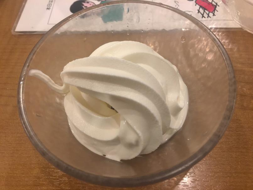 すたみな太郎のアイスクリーム