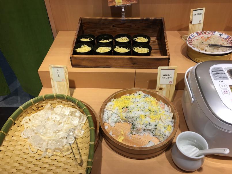 しゃぶ葉磐田店のご飯・麺類