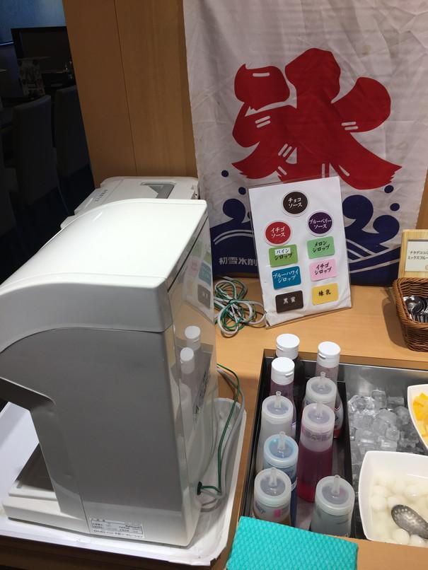 しゃぶ葉磐田店のかき氷