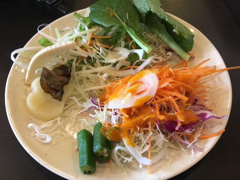 しゃぶ葉の野菜