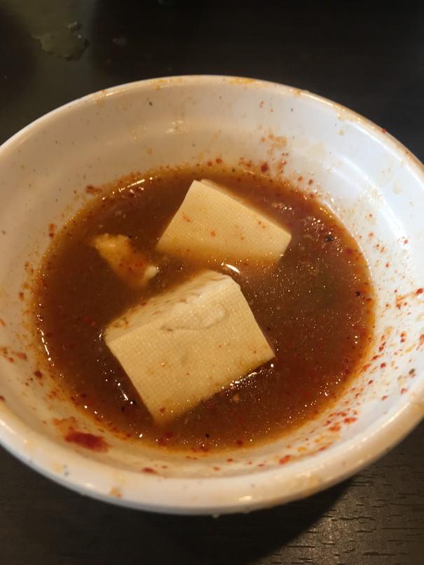 しゃぶ葉の豆腐