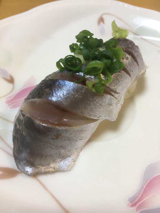 すし一番の青魚